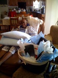 Chris J hospital- TOby's Dream Foundation