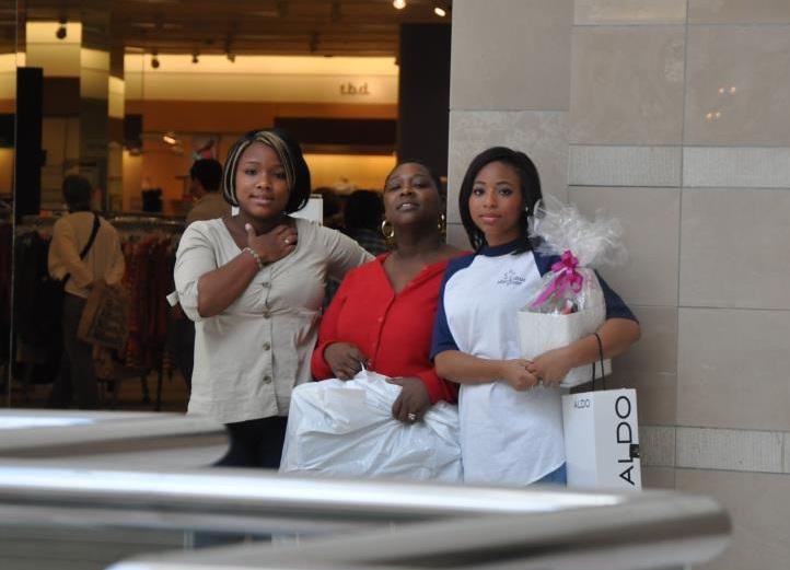 kori shopping spree at MacArthur Center, Norfolk, VA- Toby's Dream Foundation
