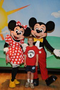 zach mickey and minnie disney- Toby's Dream Foundation