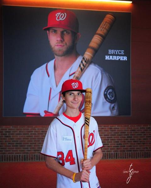 Matthew meets Bryce Harper