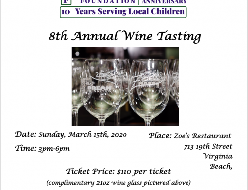 8th Annual Wine Tasting